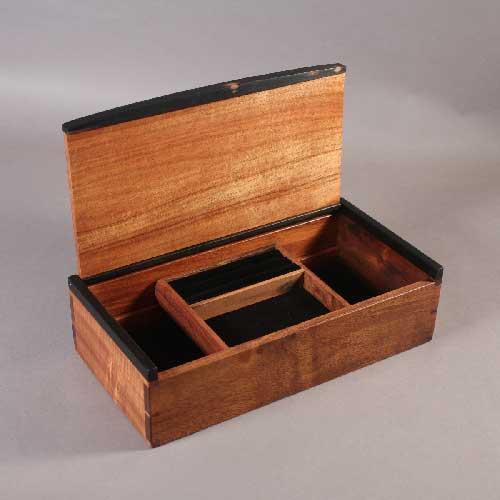 Cherry And Koa Dovetailed Tea Boxes